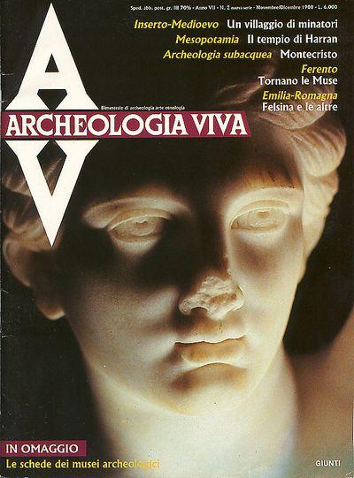 Archeologia Viva n. 2 - novembre/dicembre 1988