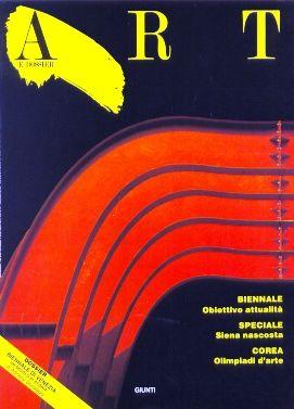 Art e dossier n. 26, Luglio/Agosto 1988