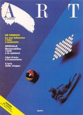 Art e dossier n. 28, Ottobre 1988