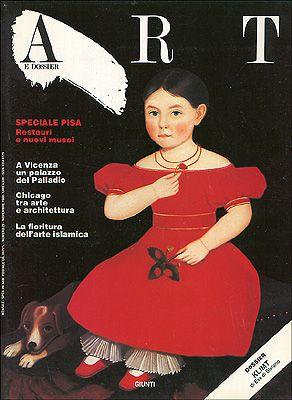 Art e dossier n. 29, Novembre 1988
