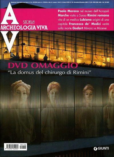 Archeologia Viva n. 138 - novembre/dicembre 2009