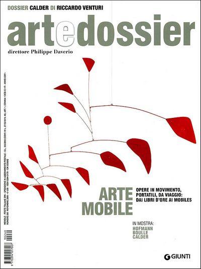 Art e dossier n. 260, novembre 2009