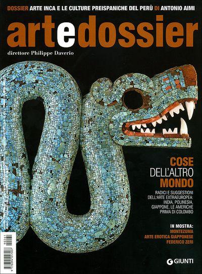 Art e dossier n. 261, dicembre 2009