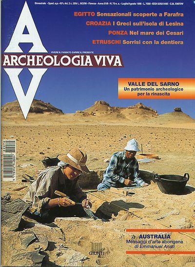 Archeologia Viva n. 70 - luglio/agosto 1998