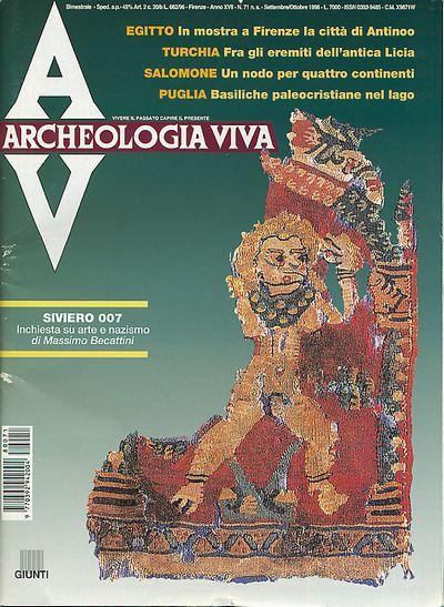 Archeologia Viva n. 71 - settembre/ottobre 1998