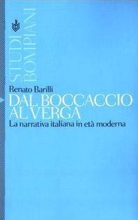 Dal Boccaccio al Verga. La narrativa italiana in età moderna