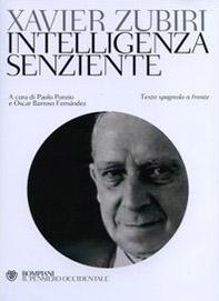 Intelligenza senziente. Testo spagnolo a fronte