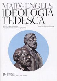 Ideologia tedesca. Testo tedesco a fronte
