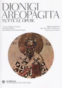 Tutte le opere. Testo greco a fronte