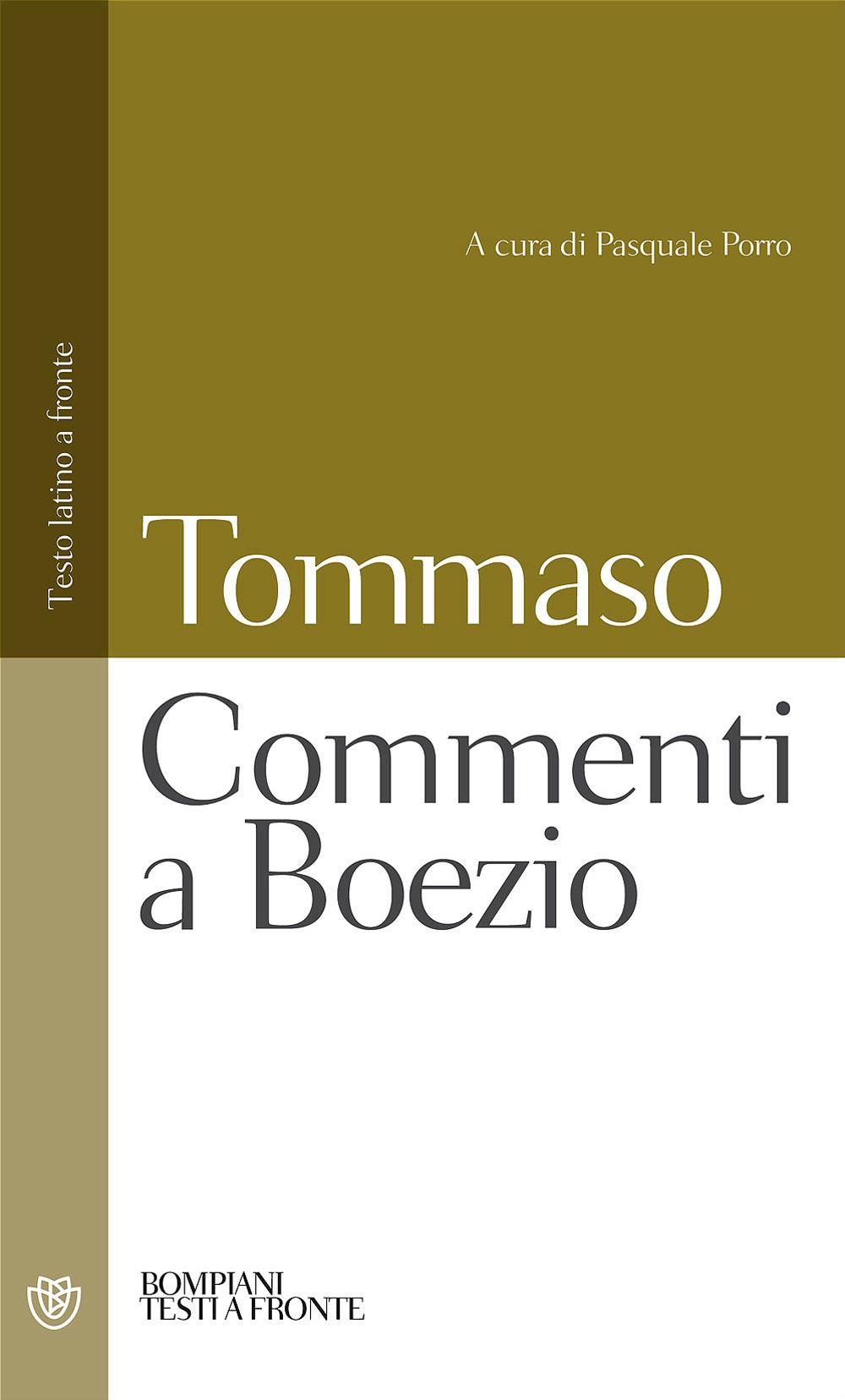 Commenti a Boezio