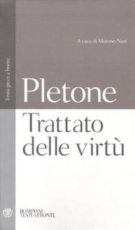 Trattato sulle virtù. Testo greco a fronte