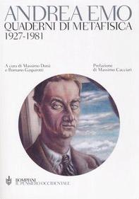 Quaderni di metafisica. 1927-1981