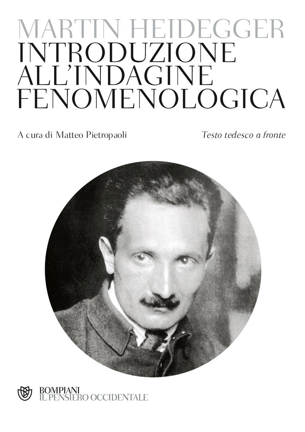 Introduzione all'indagine fenomenologica